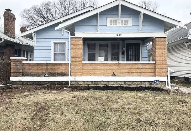 Watson Buys Indianapois Inherited House